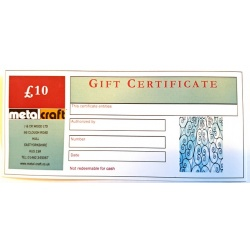 Buy Vouchers for the Metalcrafter in your life