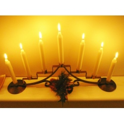 Free Design Notes For Advent Candle Stand