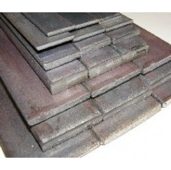 16 lengths -25mm x 3mm mild steel 1397mm x 55 inches *LAS...