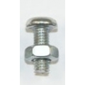 Pack of 3mm dia x 8mm long Nuts & Bolts (Contents: ap...