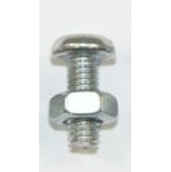Pack of 3mm dia x 8mm long Nuts & Bolts (Contents: approx...