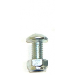 Pack of 5mm dia x 12mm long Button Head Hex Head Bolts wi...