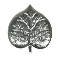 You can use these Metal Leaves for Welding or simply punch a hole and attach with a  nut and bolt or rivet.