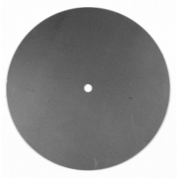 Large round steel clock back for DIY Clock Kits UK