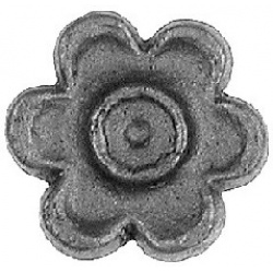 Small Metal Rosettes that make the ideal accompaniment to gates fencing and railings