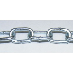 Weldable for more strength this oval chain can take loads up to 40kg