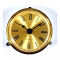 65mm Round Clock Insert (Gold Dial)