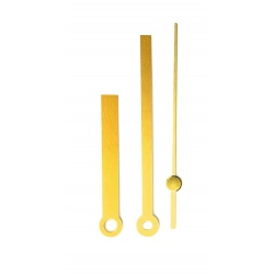 In need of Clock Spares-if so try these modern looking gold clock hands for 7 inch clocks