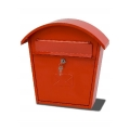 Tudor Style Postbox (Red)