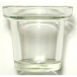 Candle Holder Supplies-like this classic clear glass