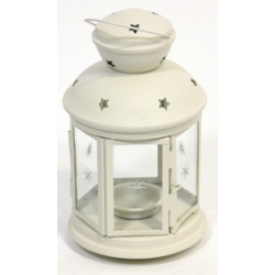 Hexagonal Lantern (White)