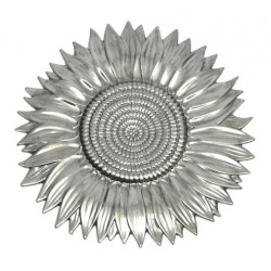 A large  pressed metal sunflower containing a great amount of detail -ideal for brightening up designs once coloured