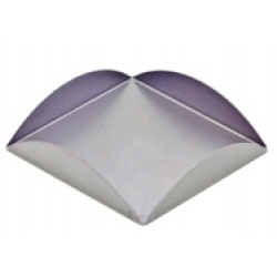 A square glass tea light holder  ideal for square tea light holders like our MC1425