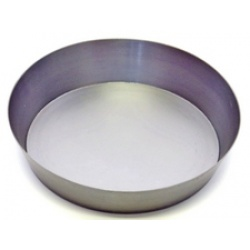 A large Candle Plate made from steel  ideal for larger church candles