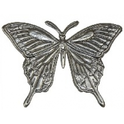A beautiful metal butterfly - the largest we stock to add impact to your projects