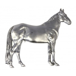 Our steel horse pressing is great for add detail  to many  equestrian related  storage ideas