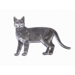 The classic cat shape made from light gauge steel  to bring life to your craft ideas