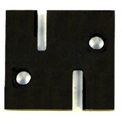XL5+ Dual Size Punch Block  ( 5mm and 6mm Diameter)
