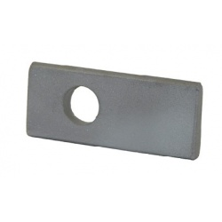 A steel latch pivot part of our gate hardware range