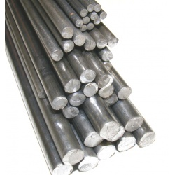 30 lengths - 1828mm (6ft) x 6mm Dia  Round Bars (Bright A...