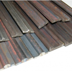 4 lengths - 14mm x 4mm  x 1m Twin Raised Edge Profile Col...