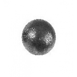 Use this solid 40mm diameter sphere for you Wrought iron Steel Post Top