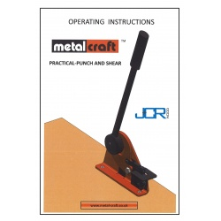 Free  Instructions & Spare Parts Diagram - Practical Punch/Shear with Tape Measuring Device