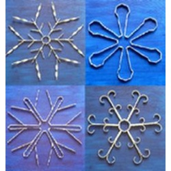 Free Instruction Sheet - Design Project for Snowflakes (X...