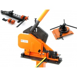 The XL5+ Power Bender is a Heavy Duty Metal Bender and Metal Ring Roller