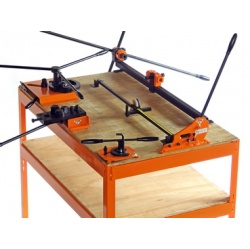 Metalcrafter Work Bench Assembly Instructions (includes s...