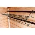 Folding Tool Rack - Colour White  [CLEARANCE ITEM]