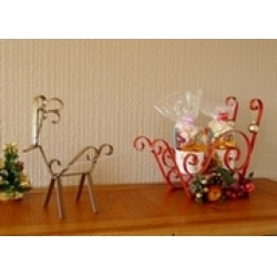 Free Instruction Sheet - Santa Sleigh Centrepiece