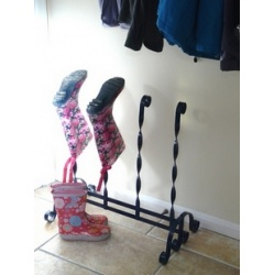 Free Instruction Sheet welly Boot stand